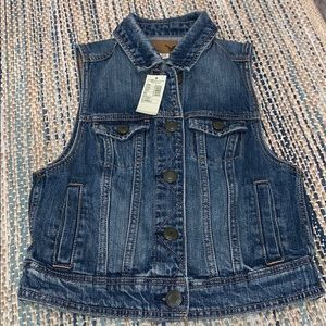 American Eagle Outfitters Denim Vest Size XS